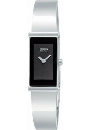 "Citizen Women's ""Eco-Drive"" Stainless Steel Bangle Watch"
