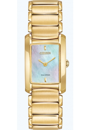 Citizen Women's Euphoria Analog Display Japanese Quartz Gold Watch