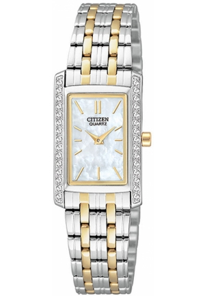 Citizen Women's Analog Display Japanese Quartz Two Tone Watch