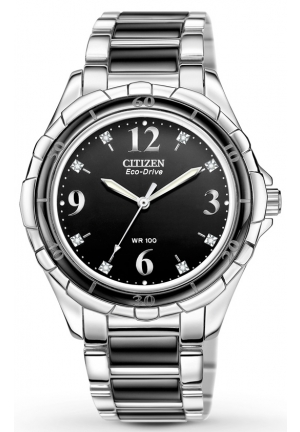 Citizen Women's Ceramic Eco-Drive Watch