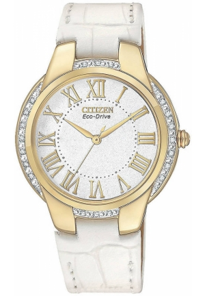 Citizen Women's Ciena Eco-Drive Gold Tone Watch