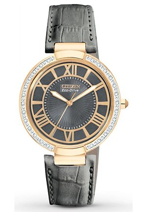 Women's d'Orsay Eco-Drive Rose Gold Tone 34mm