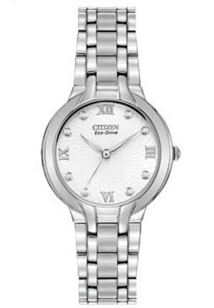 Citizen Women's Eco-Drive Bella Diamond-Accented Bracelet Watch