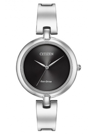 "Citizen Women's ""Silhouette"" Stainless Steel Eco Drive Watch"