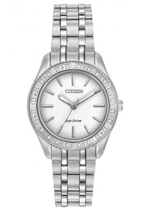 Citizen Women's Dress Analog Display Japanese Quartz Silver Watch