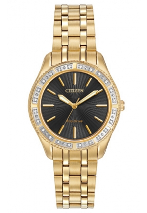 Citizen Women's Dress Analog Display Japanese Quartz Gold Watch