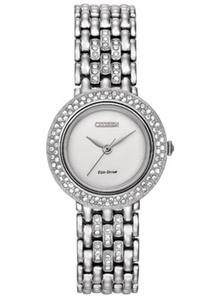 Citizen Women's Silhouette Analog Display Japanese Quartz Silver Watch