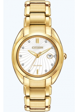 Citizen Women's Celestial Analog Display Japanese Quartz Gold Watch
