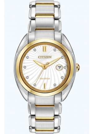 Citizen Women's Celestial Analog Display Japanese Quartz Two Tone Watch