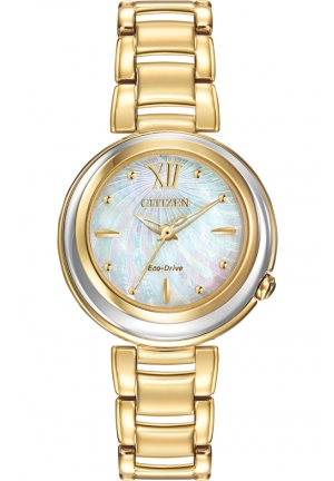 Citizen Women's Citizen L Sunrise Analog Display Japanese Quartz Gold Watch