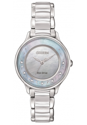 Citizen Women's Circle of Time Silver-Tone Watch