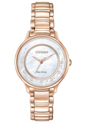 Citizen L Circle Of Time Eco-Drive Ladies Sapphire Diamond Watch