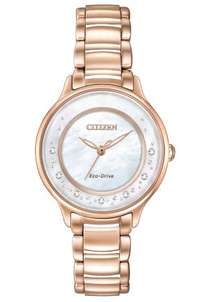 "CITIZEN ECO-DRIVE ""CIRCLE OF TIME"" LADIES WATCH"