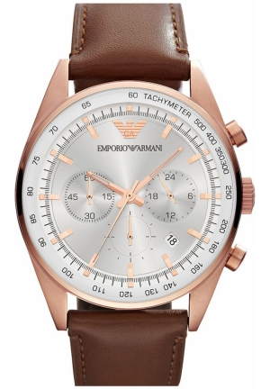 EMPORIO ARMANI Chronograph Watch 43mm