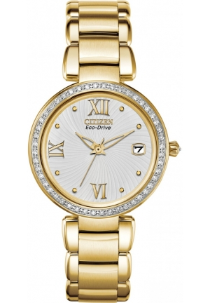 Citizen Women's Marne Analog Display Japanese Quartz Gold Watch