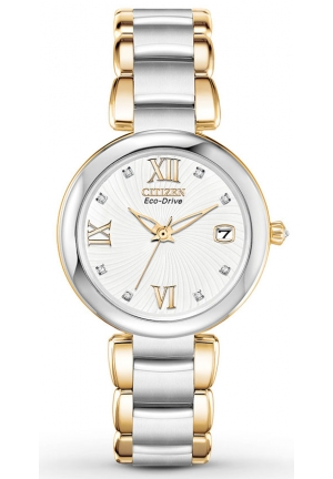 Citizen Women's Marne Analog Display Japanese Quartz Two Tone Watch