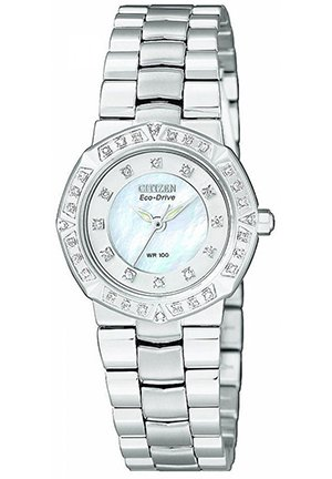 Women's Diamond Stainless Steel Bracelet 26mm