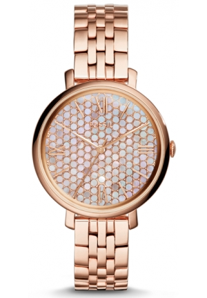 Fossil Women's Jacqueline Rose Gold Stainless-Steel Quartz Watch