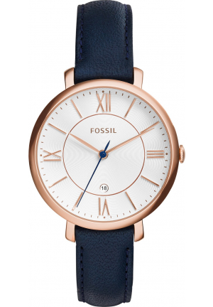 FOSSIL JACQUELINE WOMEN'S ROSE GOLD-TONE WATCH 36MM