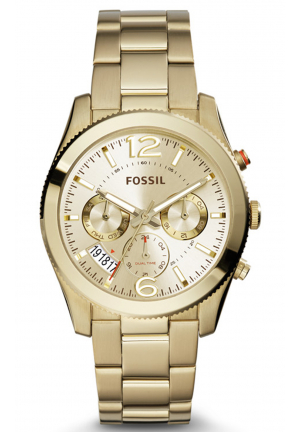 PERFECT BOYFRIEND MULTIFUNCTION STAINLESS STEEL WATCH – GOLD-TONE