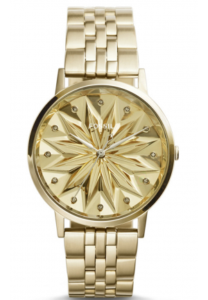 SPECIAL EDITION VINTAGE MUSE THREE-HAND STAINLESS STEEL WATCH – CHAMPAGNE