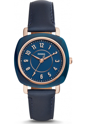 FOSSIL ES4280 SALE IDEALIST THREE-HAND NAVY WATCH 36MM