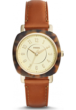 FOSSIL ES4281 IDEALIST THREE-HAND LUGGAGE WATCH 36MM