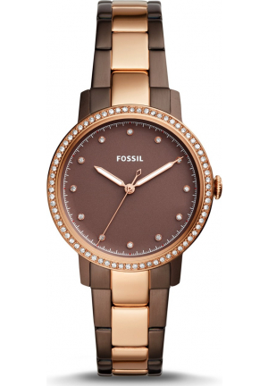 FOSSIL ES4300 NEELY THREE-HAND TWO-TONE WATCH 35MM