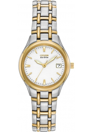 Citizen Women's Eco-Drive Silhouette Two-Tone Stainless Steel Watch