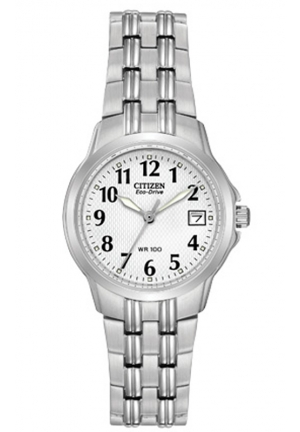 Citizen Women's Eco-Drive Silhouette Sport Stainless Steel Watch