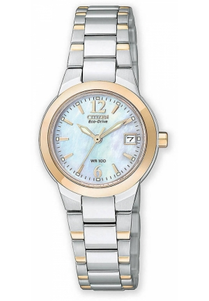 Citizen Women's Silhouette Sport Eco Drive Two-Tone Stainless Steel Watch