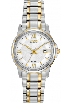 Eco-Drive Two-Tone Watch