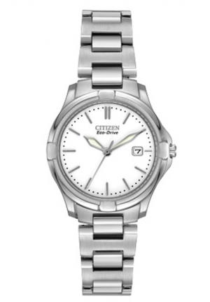 Citizen Women's Silhouette Sport Silver-Tone Watch