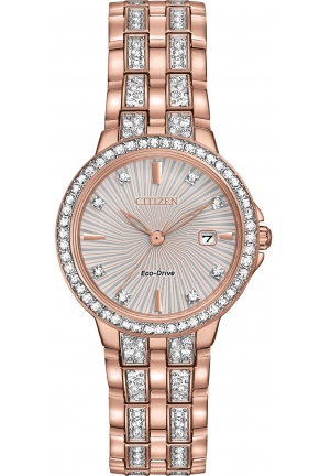 Citizen Eco-Drive Silhouette Crystal 28mm