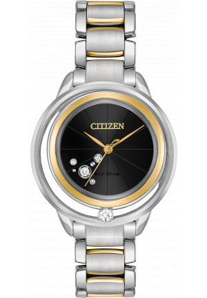 CITIZEN SUNRISE SOLITAIRE LIMITED EDITINON DIAMOND 33MM