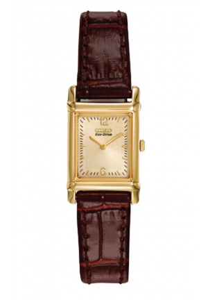Citizen Women's Eco-Drive Leather Strap