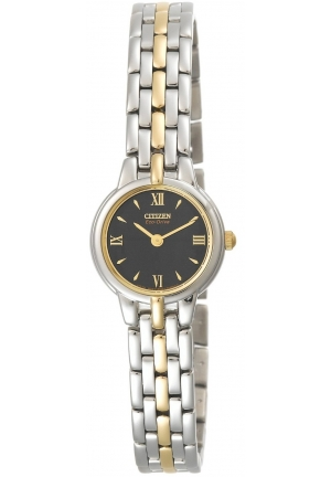 Citizen Women's Eco-Drive Silhouette Two-Tone Bracelet Watch