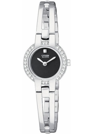 Citizen Women's Silhouette Stainless Steel Eco Drive Bangle Watch