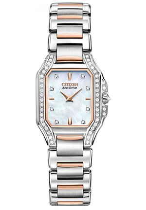 Women's The Signature Collection Eco-Drive Fiore Watch 24mm