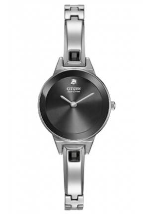 Citizen Women's Silhouette Bangle Silver Watch