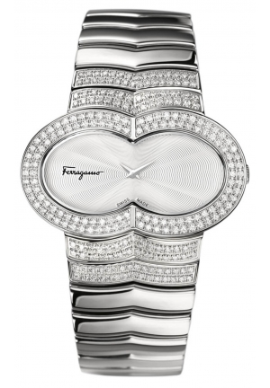 ASSOLUTO DIAMOND STAINLESS STEEL WATCH 40MM