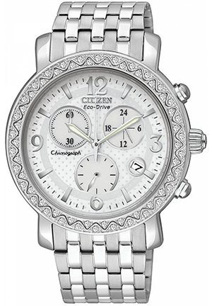 Women's Chronograph Drive from Citizen Stainless Steel Bracelet 38mm