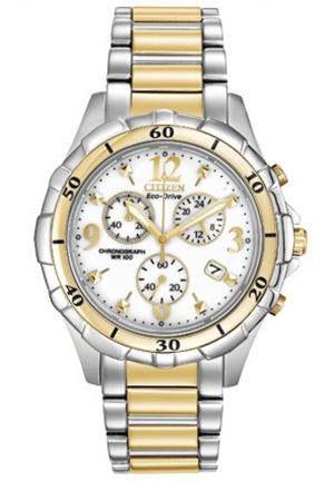 Citizen Women's Two-Tone Stainless Steel Eco-Drive Watch