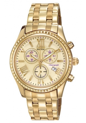 """Citizen Women's """"Eco-Drive"""" Stainless Steel Watch"""