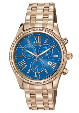 Citizen Women's FB1363-56L Eco-Drive AML Chronograph Casual Watch