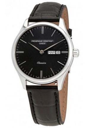 FREDERIQUE CONSTANT Classics Drak Grey Dial Men Watch