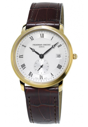 SLIMLINE MENS WRISTWATCH 37MM