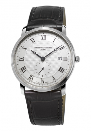 SLIMLINE SILVER DIAL MEN'S WATCH GENTS 39MM