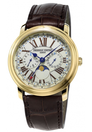 FREDERIQUE CONSTANT PERSUASION QUARTZ YELLOW GOLD 40MM