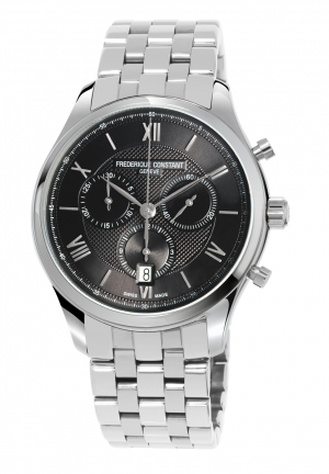FREDERIQUE CONSTANT Classics Chronograph Dark Grey Dial Men's Watch